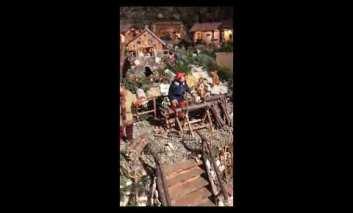 I magi arrivano a San Mariano nel sorprendente presepe di Mario Maccherani