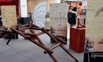 Il genio di Leonardo Da Vinci arriva al Quasar Village