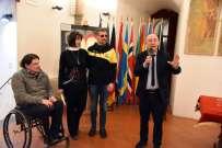 Luca Panichi, la moglie di Aiello, Luca Aiello e Carmine Camicia.jpg