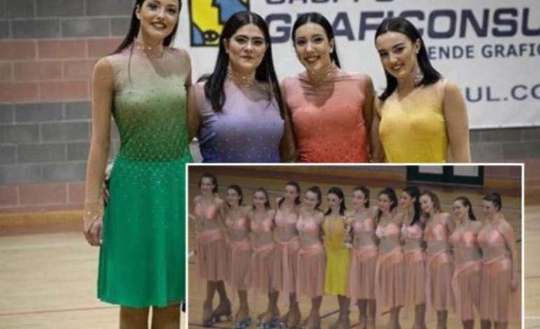 Pattinaggio artistico: le squadre Blue Stone e Hanging Dreams prime al Campionato Regionale