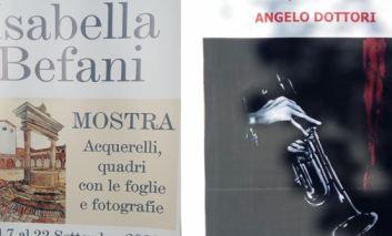 Inaugurate a Corciano le personali degli artisti Angelo Dottori e Isabella Befani