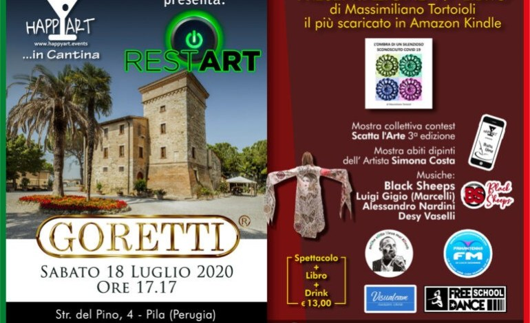 """Restart"": Happy Art riparte dopo il coronavirus con un maxi evento"