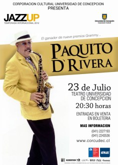 Afiche Paquito d'Rivera FINAL2