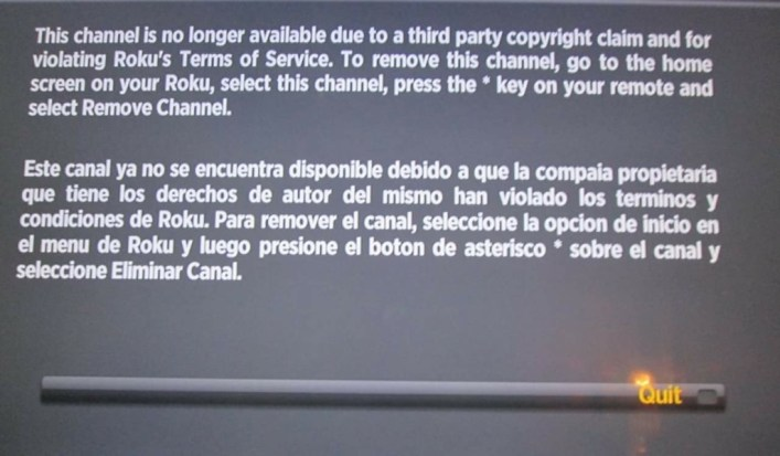 Roku Just Banned Channel Pear - One of The Most Popular Private Roku