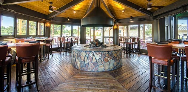 Fire Pit Room