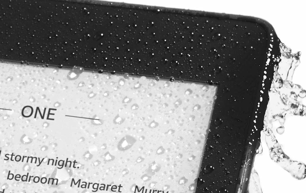 Amazon's all-new, waterproof Kindle Paperwhite