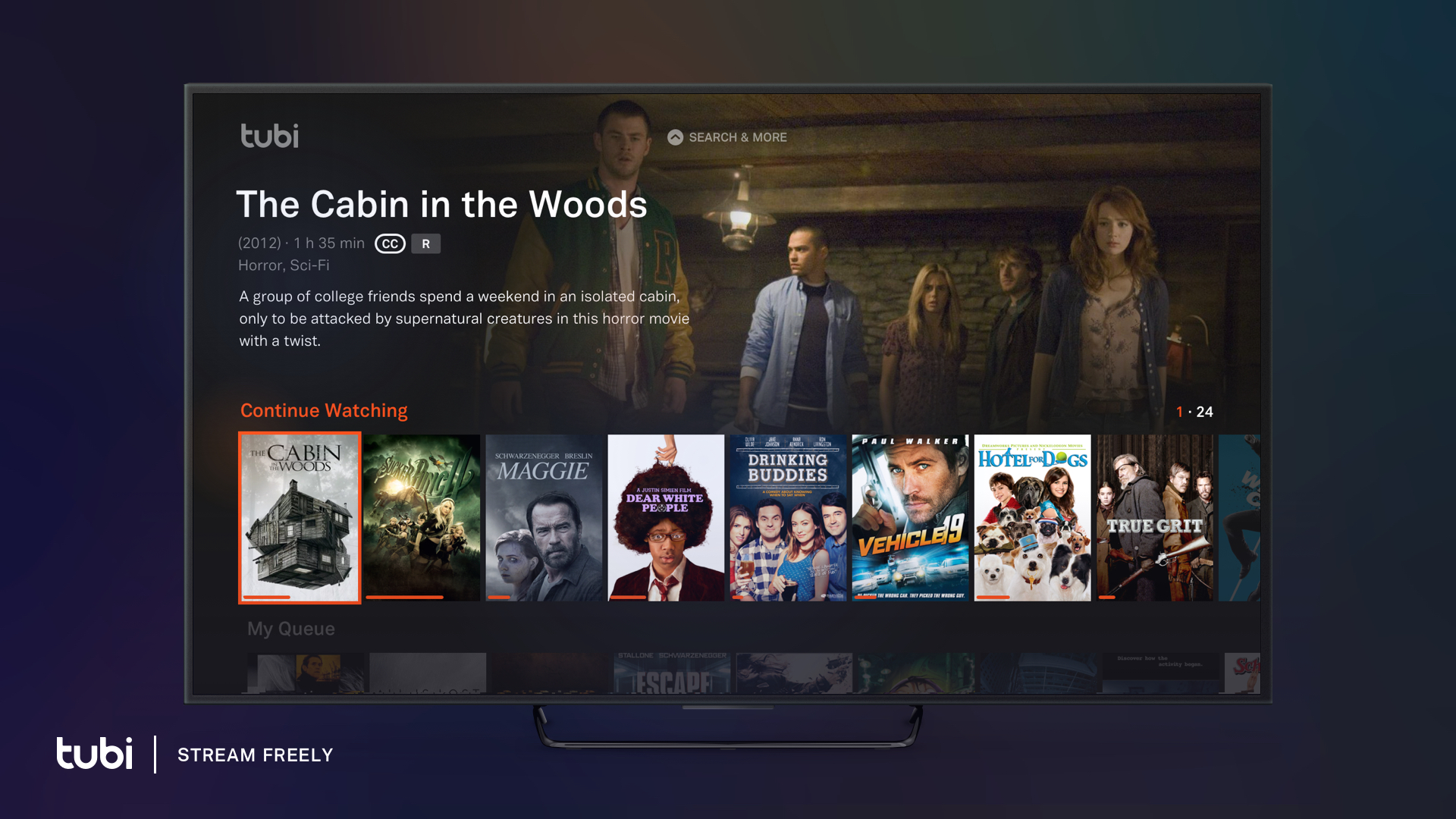free tv shows and movies