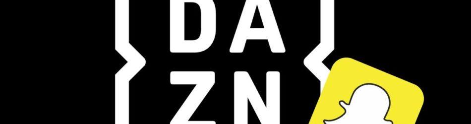 DAZN + Snapchat logo