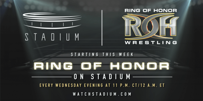 Ring Of Honor Available Streaming & OTA On Stadium