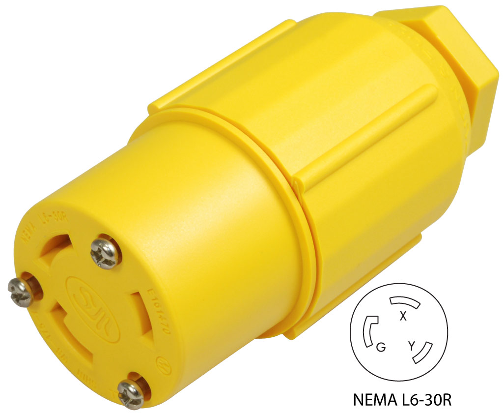 Conntek Nema L6 30r Assembly Replacement Connector