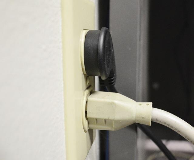 Conntek 05219 NEMA 5 15 Outlet Extender With Flat Angled Plug