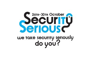 Security Serious Week: drop-in session on Tuesday 27 October 2015