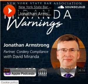 Miranda Warnings – Brexit and Data Privacy with Jonathan Armstrong