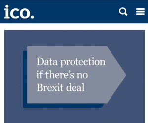 Updated ICO Brexit No-Deal Guidance