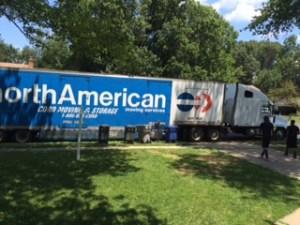 NorthAmerican Van Lines truck