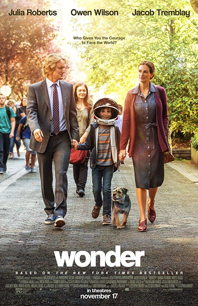 Movie: Wonder, 4pm Showing