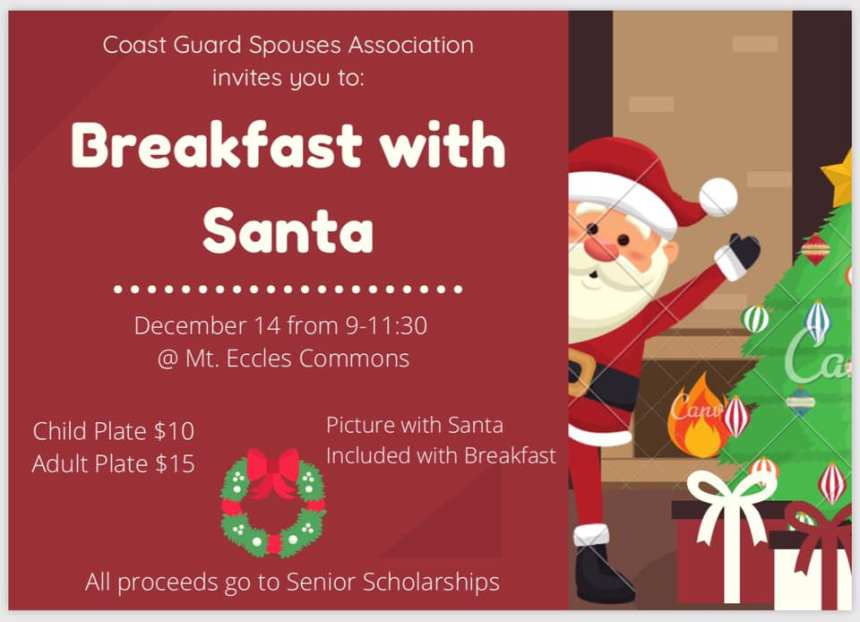 Coast Guard Spouses Association: Breakfast with Santa