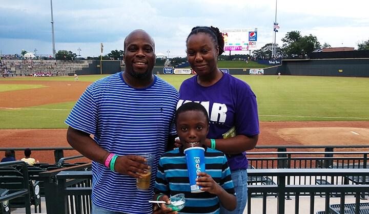 CTS Celebrates Family Night at the Ball Park