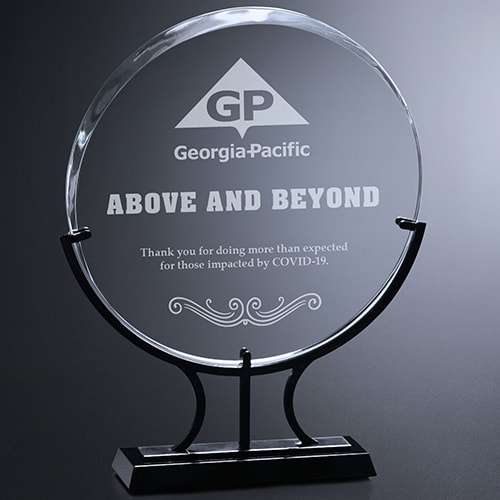 Above and Beyond Award Example Image