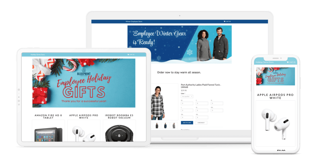 Holiday Employee Gift Stores