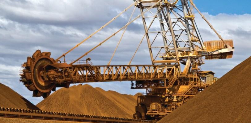 Iron Ore Mine Site