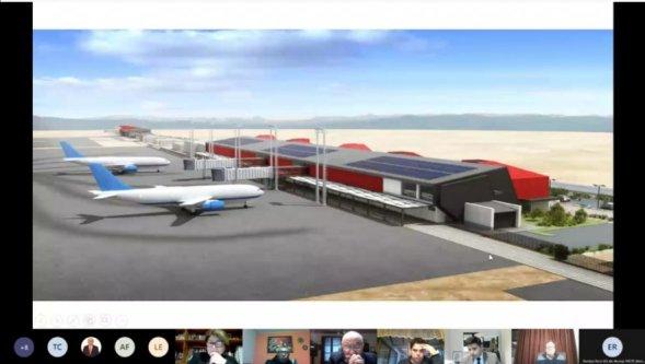 Presentan al CORE anteproyecto del aeródromo de La Serena