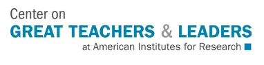 Center on Great Teachers & Leaders