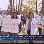 Medical School Faculties and Students Protest to Keep ACA Alive