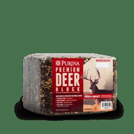 Purina Premium Deer Block