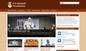 P G Kamath website