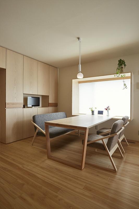 広島県の府中家具の造作家具を提案した府中市での家づくり|建築会社コアハウス