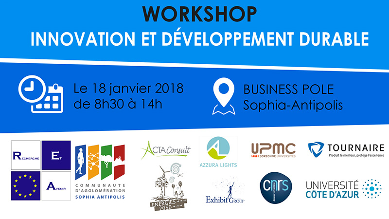 2018.01.18 -Workshop Innovation et Développement Durable