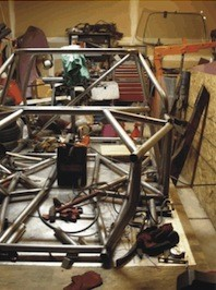 AMX chassis, front