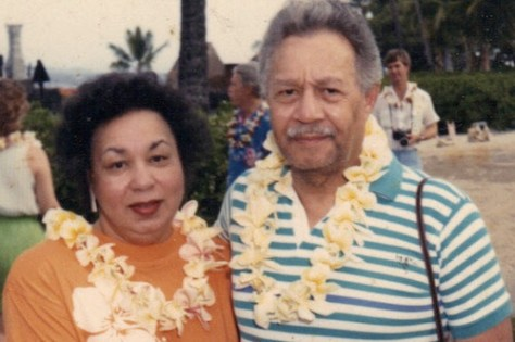Pat and Tom Best in Hawaii, 1989