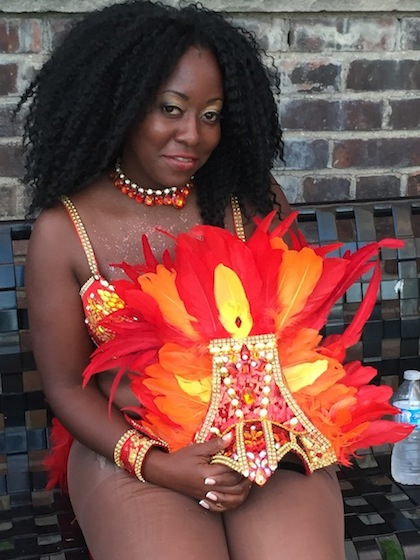 Ebony, after the Toronto Caribbean Carnival Parade, also known as Caribana photo by Cherryl Bird