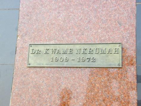 Dr. Kwame Nkrumah 1909-1972