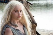 Emilia Clarke as Daenerys Targaryen