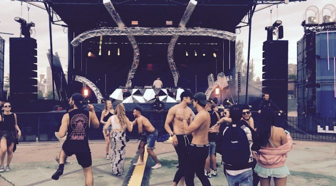 Lessons from the dance floor at Electric Island Civic Day