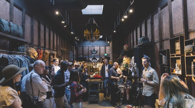Alaska outfitter Filson opens a retail location on Queen Street West. Photo: Jenna Marie Wakani