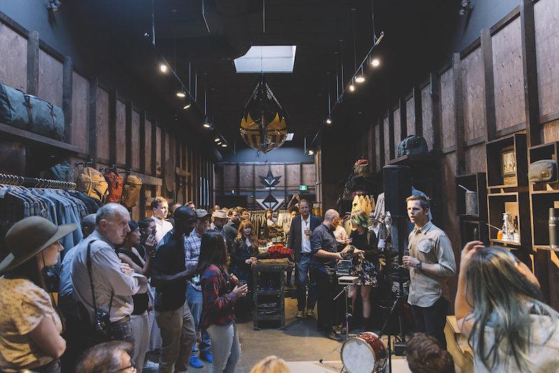 Alaska outfitter Filson opens a retail location on Queen Street West. Photo: Jenna Marie Wakani