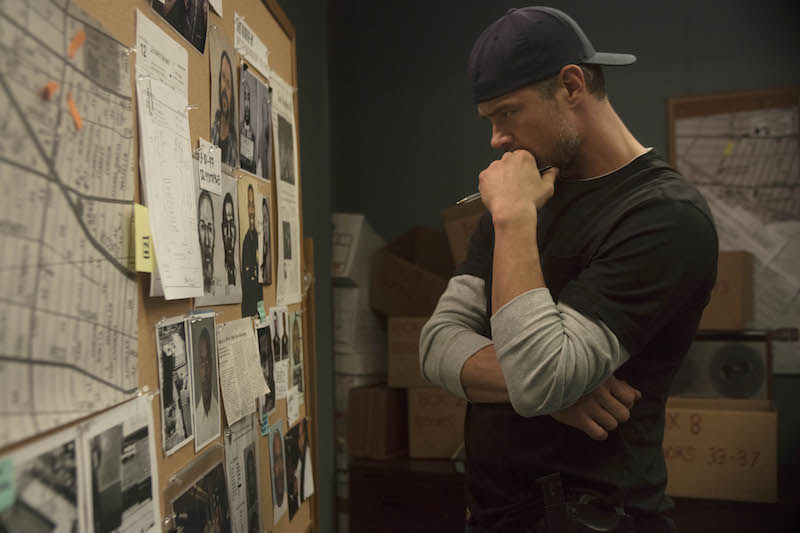 """UNSOLVED: THE MURDERS OF TUPAC AND THE NOTORIOUS B.I.G. -- """"Pilot"""" Episode 101 -- Pictured: Josh Duhamel (Photo by: Richie Knapp/USA Network)"""