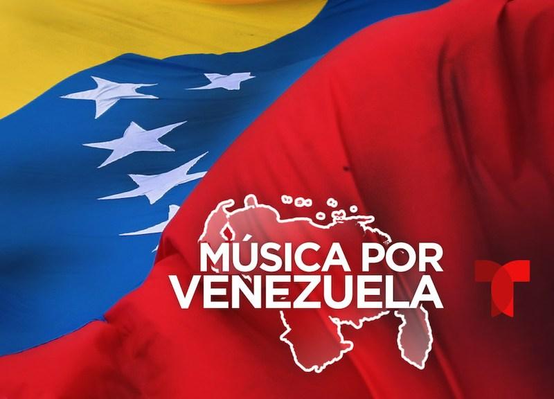 A benefit concert to aid Venezuela on Feb 22, 2019.