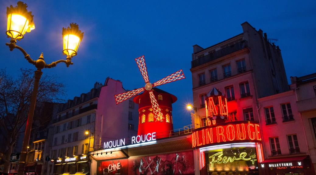 The Moulin Rouge exterior