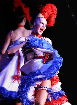 Moulin Rouge French Cancan dance