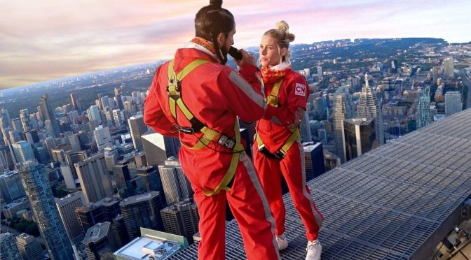 Walk Off The Earth's depth defying show from atop the CN Tower