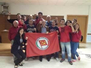 Il segretario di Rifondazione Comunista Paolo Ferrero a Coreno durante la festa di Liberazione