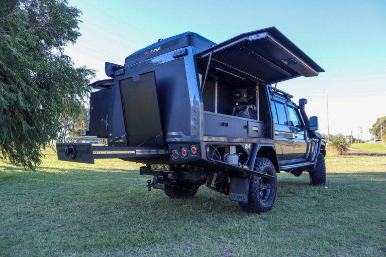 Read more about the article Toyota Landcruiser 79 Series Dual Cab – With the kitchen sink!