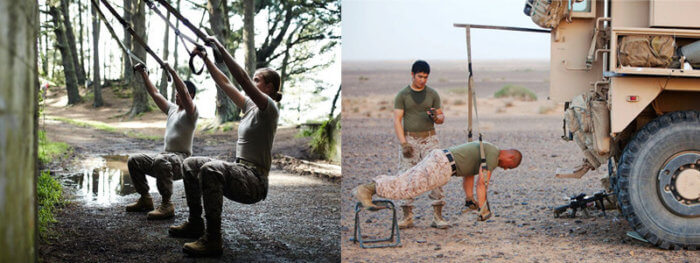 TRX Military Workout