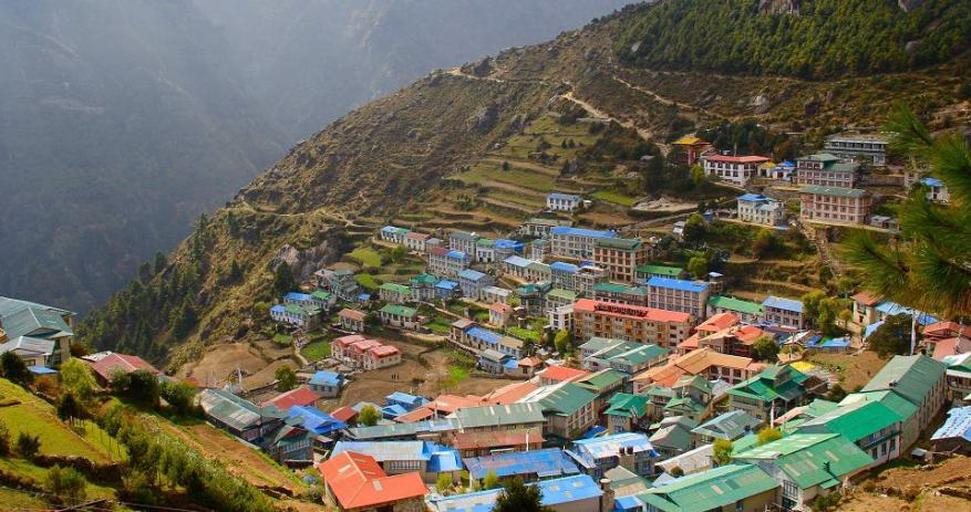 Namche Bazaar: The gateway of Mt. Everest