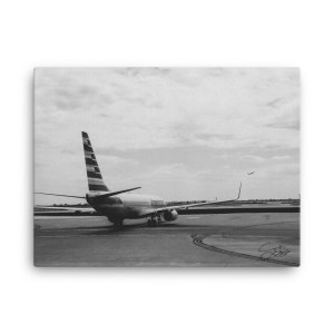 """""""Ready for Takeoff"""" 18x24 wrapped canvas print"""